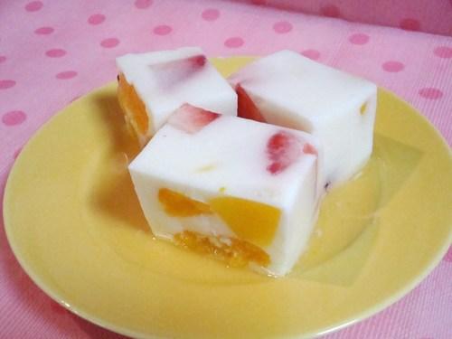 Fruit Yogurt Agar (Kanten)