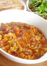 Tomato Curry - Full of Beans