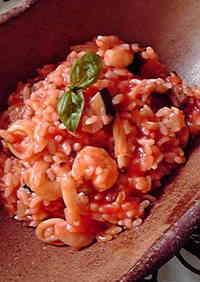 Seafood Risotto (Italian Trattoria Style)
