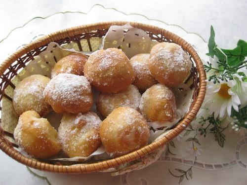 My Original Adzuki Doughnut Holes