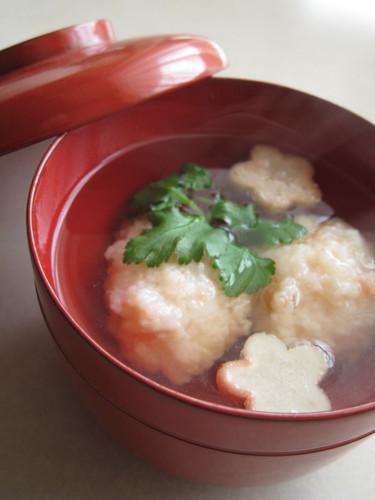 Shrimp Ball Clear Soup