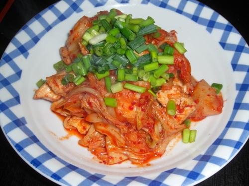 Quick Budget Dish Chicken Kimchi
