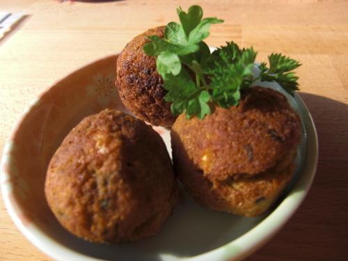 Falafel Chickpea Croquettes