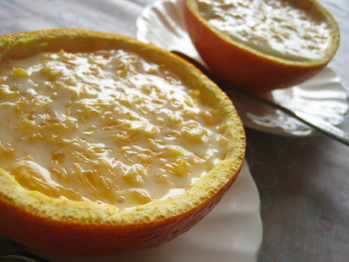 Iyokan Citrus Cups No-bake Cheesecake