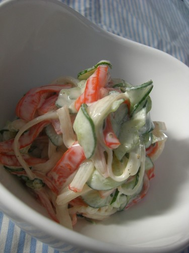 Very Easy Crabstick Salad