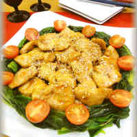 Chicken Breast with Honey Oyster Sauce