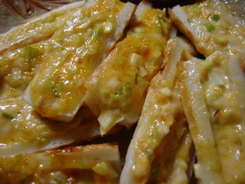 Chikuwa Gochujang Mayonnaise Melt