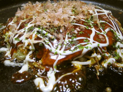Piping Hot Hiroshima Style Okonomiyaki