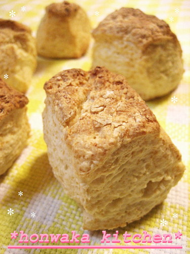Oil & Egg-Free Scones