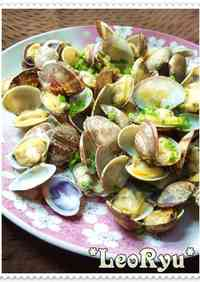 A Fisherman's Dish: Butter Steamed Manila Clams