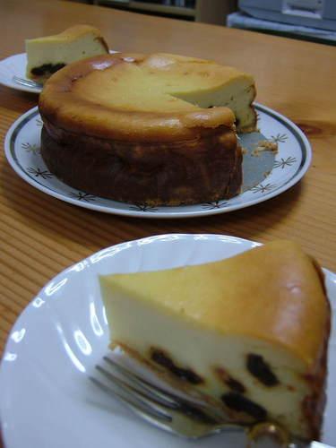 Rum Raisin Cheesecake