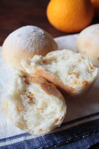 Orange Peel Bread Rolls
