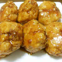 Chicken Chewy Lotus Root Tsukune Patties