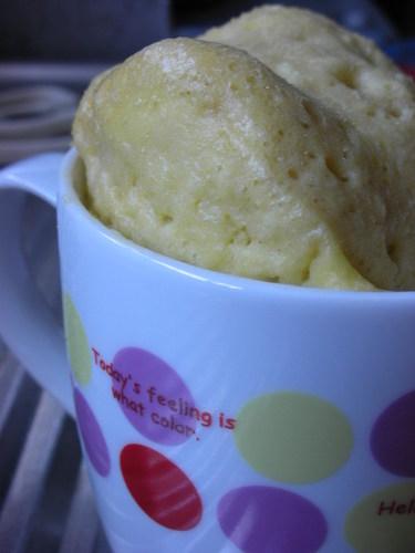 Simple Mug Cup Cake