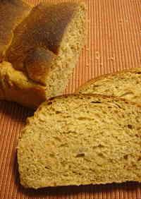 100% Whole Wheat Oil-Free Bread