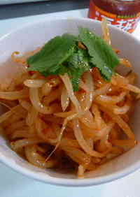 Spicy, Delicious Bean Sprouts