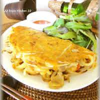 Vietnamese Okonomiyaki - Bánh Xèo
