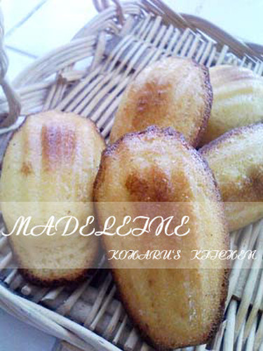 Moist Honey Madelines