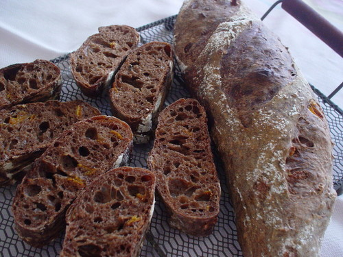 Mocha French Bread (Made with Yeast)