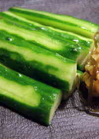 A Better Moro-Kyuri (Moromi Miso with Cucumbers)