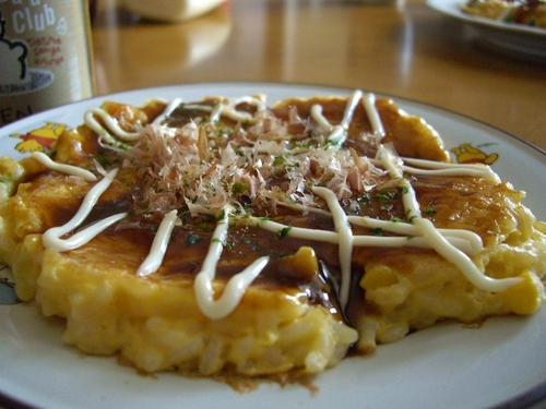 Rice Okonomiyaki