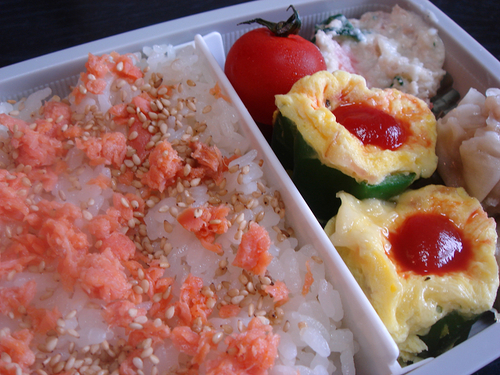 Recommended for Bentos Eggs in Green Pepper Cups