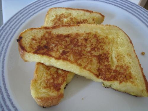 Hanamaru French Toast--Use Up All the Egg Mixture!