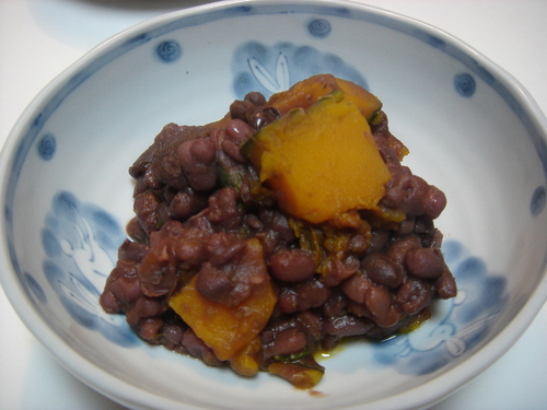 Macrobiotic Adzuki Beans with Kabocha Squash