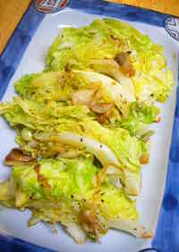 Pan-Fried Spring Cabbage with Garlic