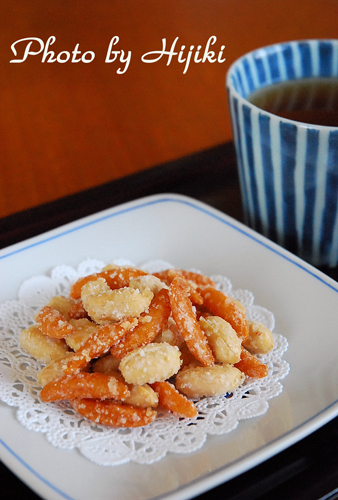 Sugar-Coated Kaki-Peanuts