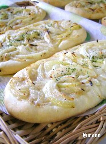 Tarte Flambé (Baked Onion Flatbread)