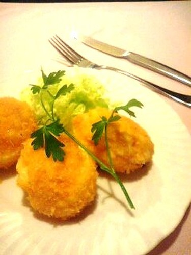 "Our ""Tamakoro"" Egg Croquettes"