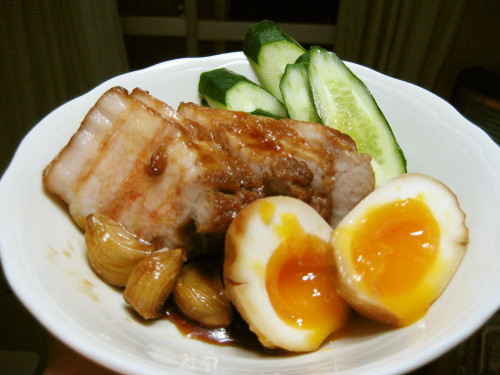 Easy Roast Pork (with Soft-Boiled Eggs)