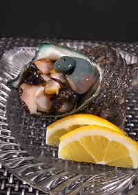 Fresh Turban Shell Sashimi