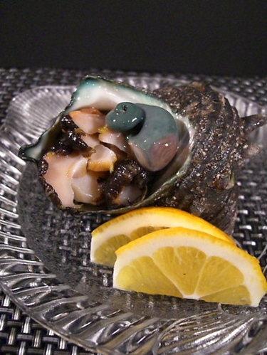 Fresh Turban Shell Sashimi