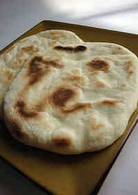 Made at Home Homemade Naan (Using a Bread Maker)
