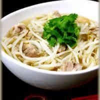 Easy Pho Ga (Vietnamese Chicken Udon Noodles)
