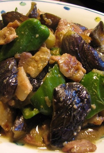 Pork, Eggplant, and Bell Pepper Miso Stir-fry that Kids will Love!