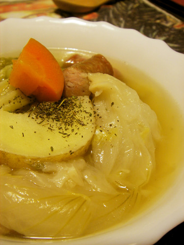 Vegetable-Packed Pot-au-Feu in the Pressure Cooker