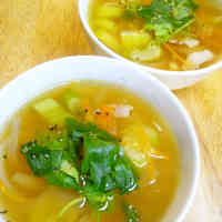 Comforting Celery and Bacon Soup