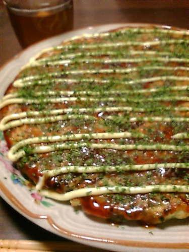Healthy With Tofu: Fluffy Light Okonomiyaki