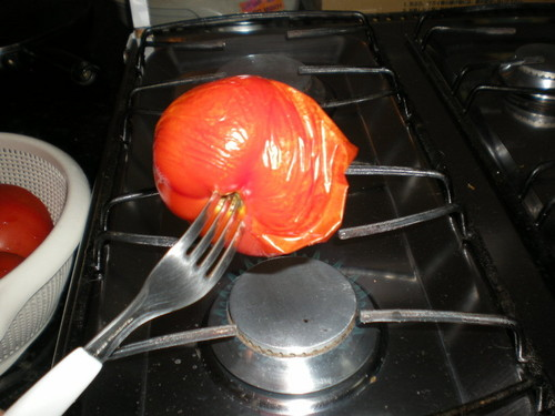 Quick! Easy! Foolproof! How to Toast and Peel Tomatoes