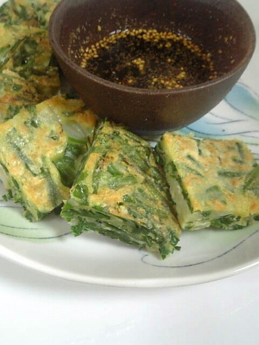 Simple Chinese Chive Chijimi