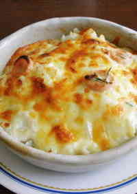 Easy Rosemary and Sausage Rice Gratin (Doria)