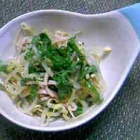 Bean Sprouts with Shiso Leaves and Ponzu Sauce
