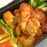 Sweet and Sour Pork in 10 minutes