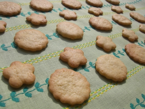 Crunchy Cookies with 10 g of Butter!