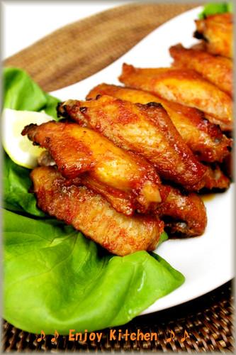 Gochujang Mayonnaise Roast Chicken Wings