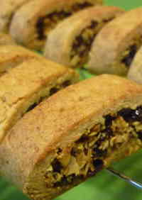 Macrobiotic Raisin Sandwich Cookies