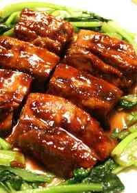 Juicy Chinese Stewed Pork Belly Blocks